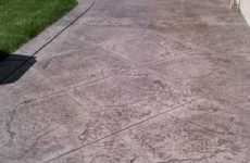 Stamped Concrete Patio Carlsbad